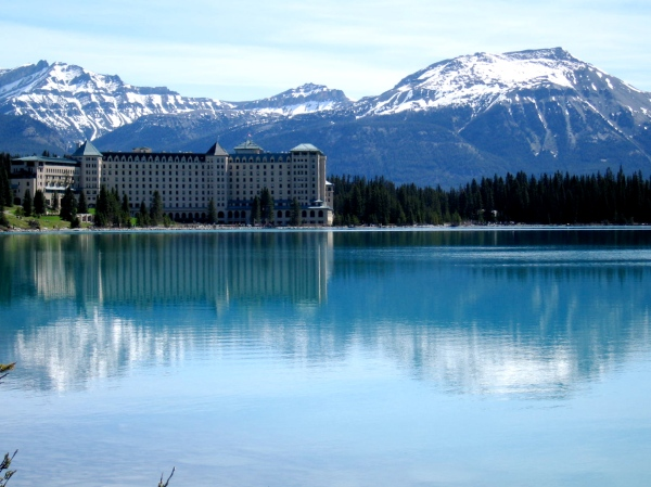 LAKE LOUISE WITH BANFF SPRINGS HOTEL