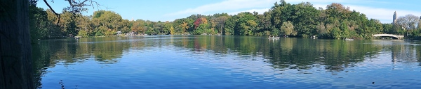CENTRAL PARK LAKE PANORAMA