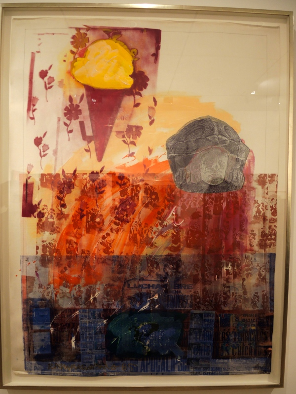 ROBERT RAUSCHENBERG (1925-2008) UNTITLED, 1985 64 3/8  X 48  INCHES