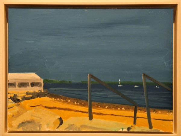 ALEX KATZ  MAINE BEACH, 2001 12  X  16 INCHES