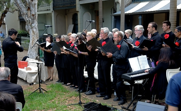 MUSTARD SEED UNITING CHURCH ULTIMO CHOIR   DECEMBER 12  2014