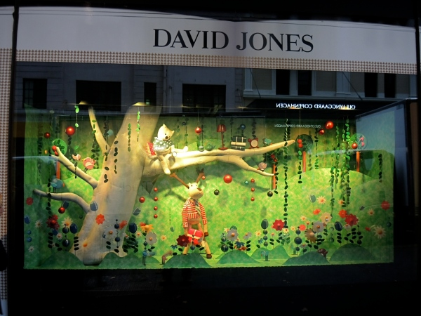 David Jones Christmas Windows