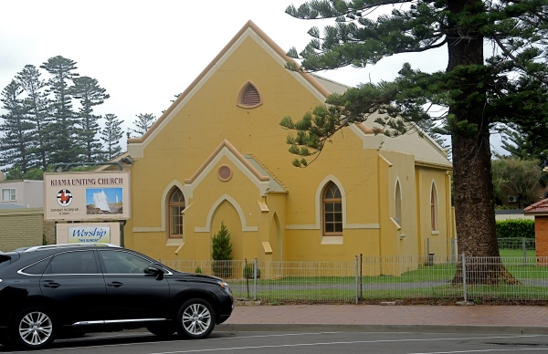 KIAMA UNITING CHURCH  -  BUILT APPROXIMATELY IN 1850