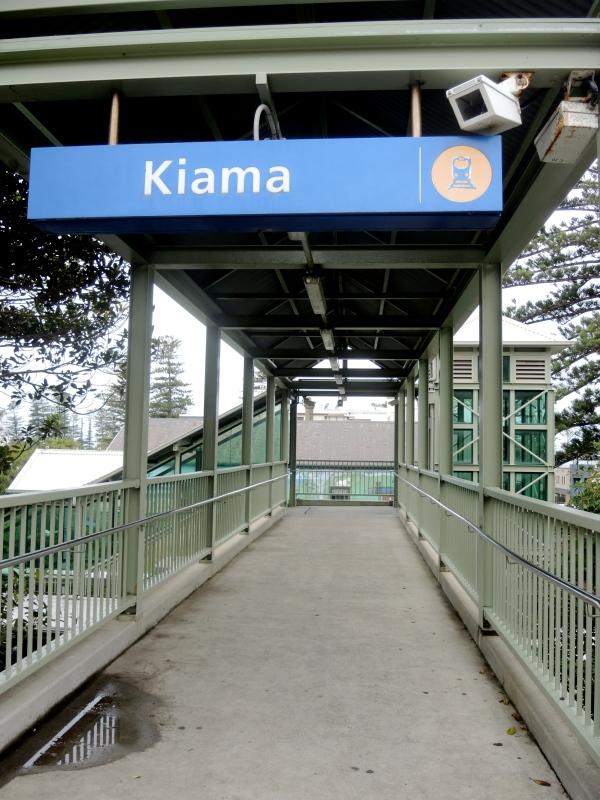 WELCOME TO KIAMA  - KIAMA RAILWAY STATION