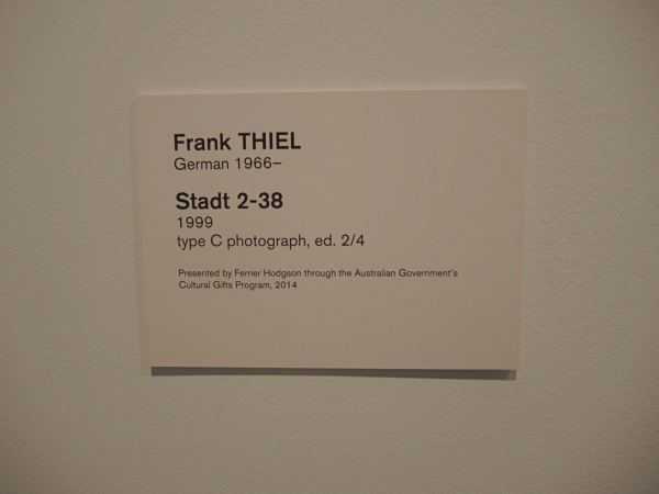 FRANK THIEL   -   STADT 2-38