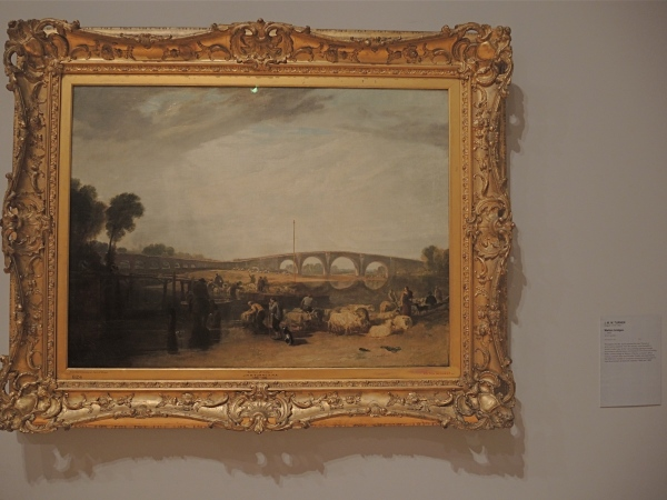 J M W TURNER     -     WALTON BRIDGES