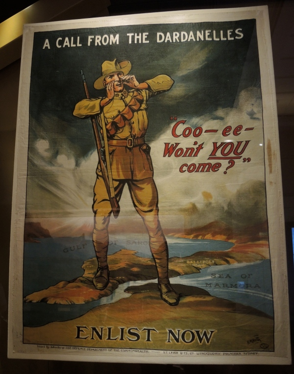 ENLISTMENT POSTER  1914