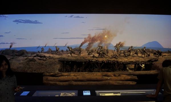 FIRST WORLD WAR DIORAMA