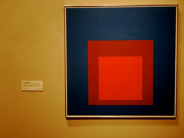 JOSEF ALBERS   -   Homage to the square: on an early sky 1964