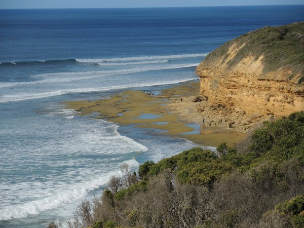 VIEW ALONG THE GREAT OCEAN ROAD