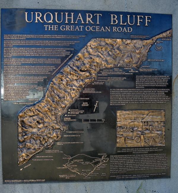 URQUHART BLUFF   -   THE GREAT OCEAN ROAD