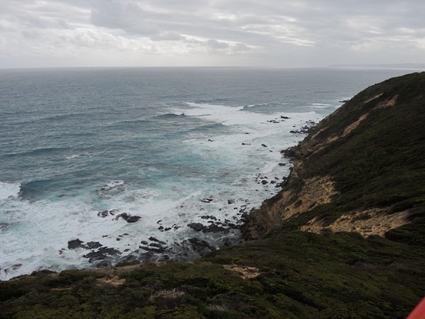 A VIEW OF THE COAST FROM THE CAPE OTWAY LIGHT STATION