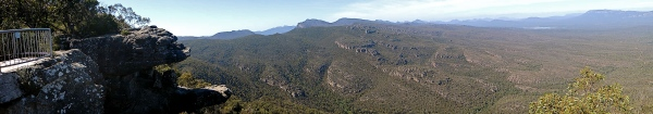 SPECTACULAR VIEW OF THE GRAMPIANS