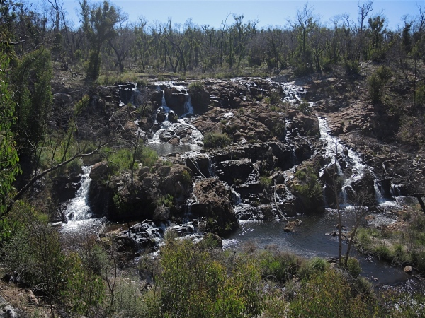 MACKENZIE FALLS   -   BIGGEST WATERFALLS IN THE GRAMPIANS