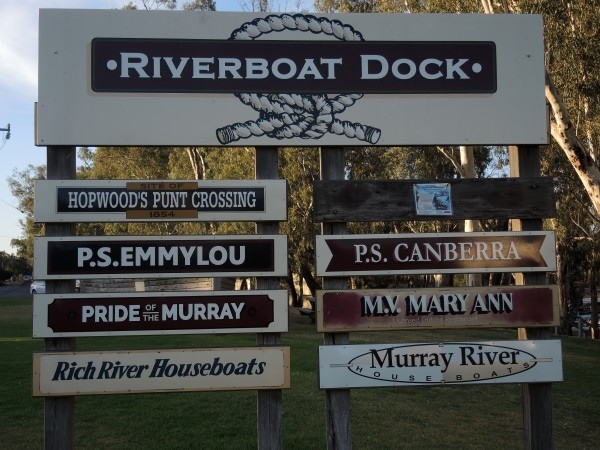 ECHUCA RIVERBOAT DOCK