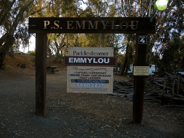 ECHUCA RIVERBOAT DOCK  -  EMMYLOU