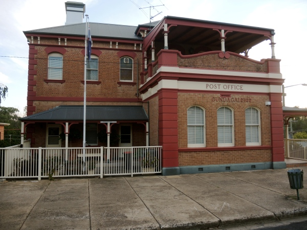 GUNDGAI POST OFFICE BUILT IN 1879