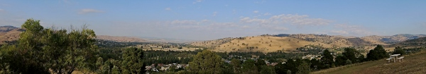 PANORAMIC VIEW OF GUNDAGAI