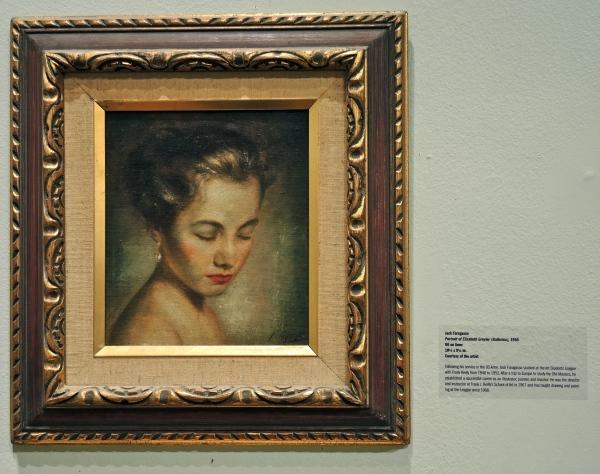 JACK FARAGASSO: PORTRAIT OF ELIZABETH GRUYIER, 1956