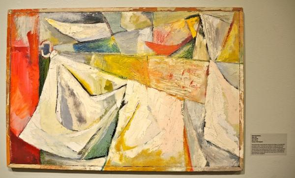 ROBERT RAUSCHENBERG: WASH, 1949.