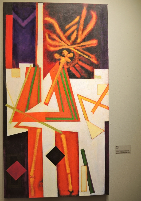 WILLIAM SCHARF: THE WEAPONS BECAME THE ALTER, 2011, ACRYLIC ON CANVAS.