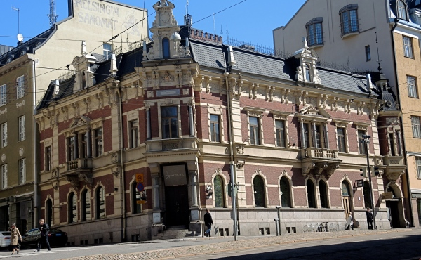 GROTESK BAR - Grotesk is in the grand building that once housed Helsinki's daily newspaper.