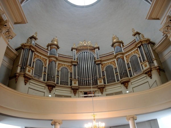 LUTHRAN CATHEDRAL ORGAN PIPES