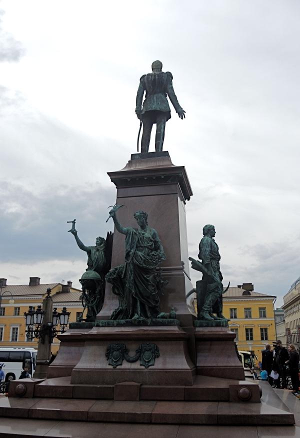 Senate Square Pedestal Monument To Alexander Ii Sculptures