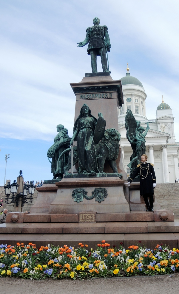 Senate Square Pedestal Monument To Alexander Ii Sculptures