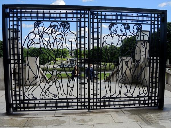 VIGELAND PARK BACK GATE