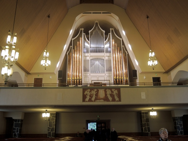 ROVANIEMI CHURCH ORGAN