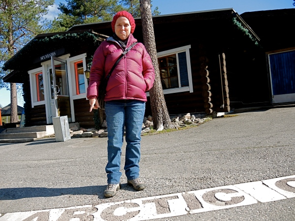 SANTA CLAUS VILLAGE SITS DIRECTLY ON THE ARCTIC CIRCLE