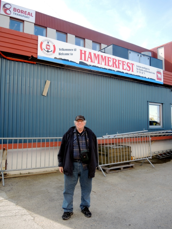WE HAVE ARRIVED IN HAMMERFEST