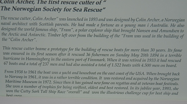 THE FIRST RESCUE CUTTER