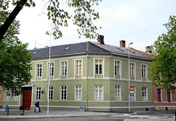 HOUSE ON MUNKEGETA, TRONDHEIM'S MAIN STREET