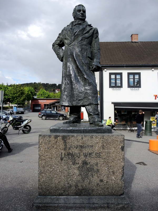 LUDVIG WIESE - FIRST MAYOR OF LILLEHAMMER