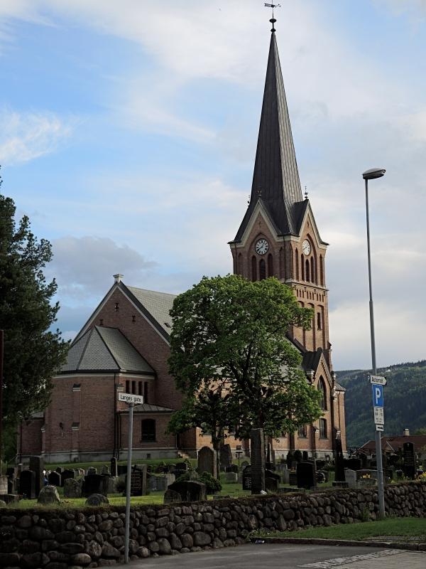 LILLEHAMMER CHURCH BUILT IN 1882