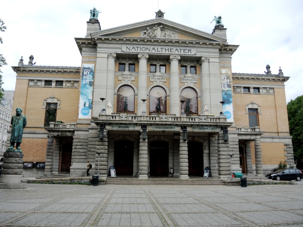 OSLO, NORWAY - NATIONAL THEATER