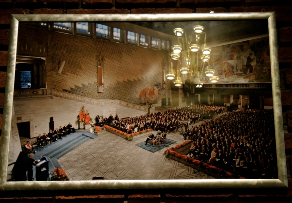 TOWN HALL, OSLO - PHOTOGRAPH - Nobel Peace Prize ceremony in Oslo