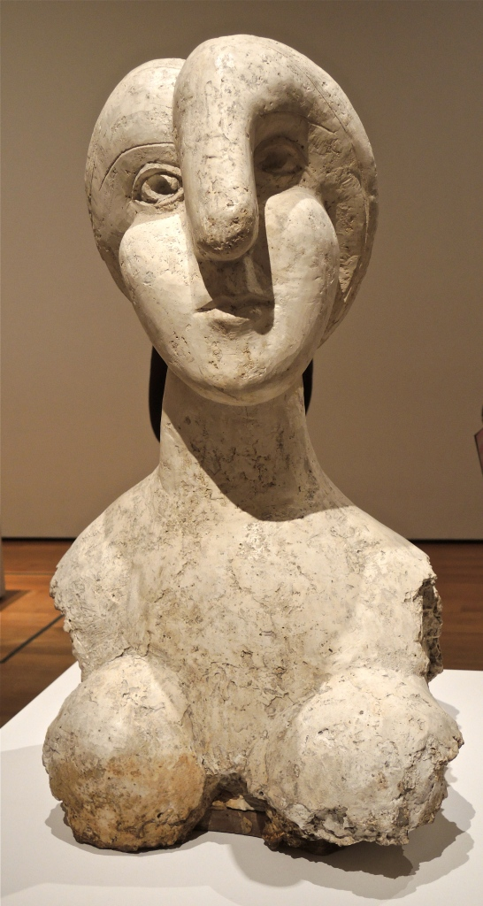 PICASSO SCULPTURE AT THE MUSEUM OF MODERN ART - NEW YORK CITY